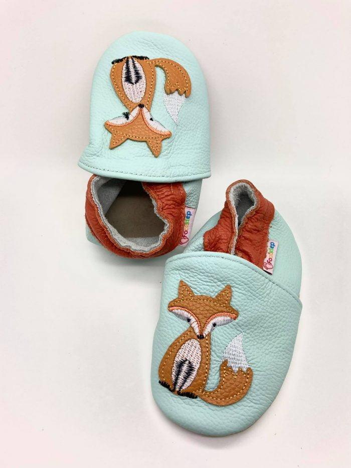 FootStep - Kožené capačky - Líška 1