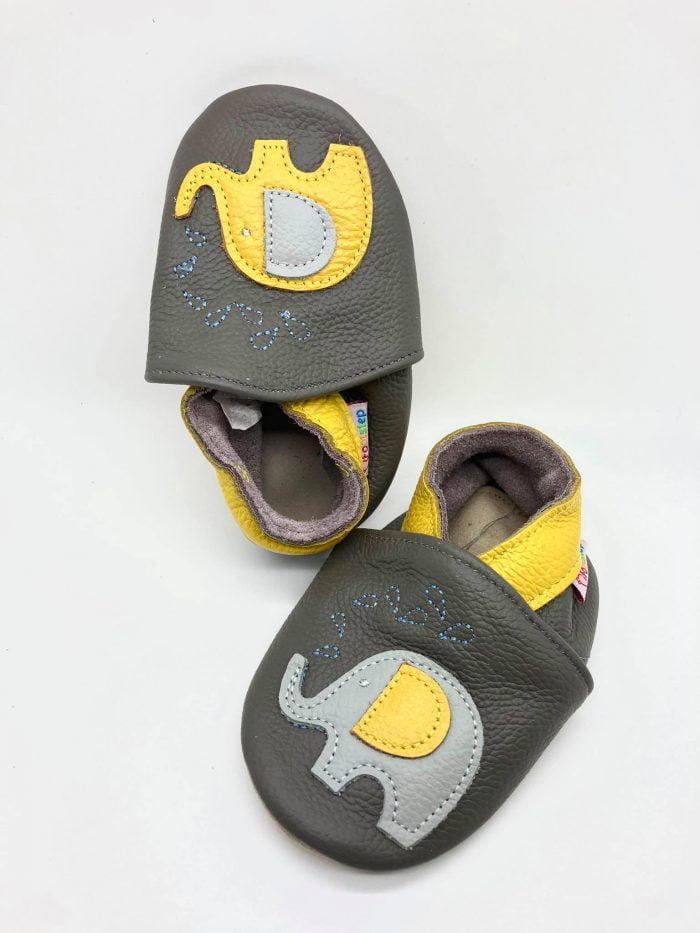 FootStep - Kožené capačky - Sloníky 1