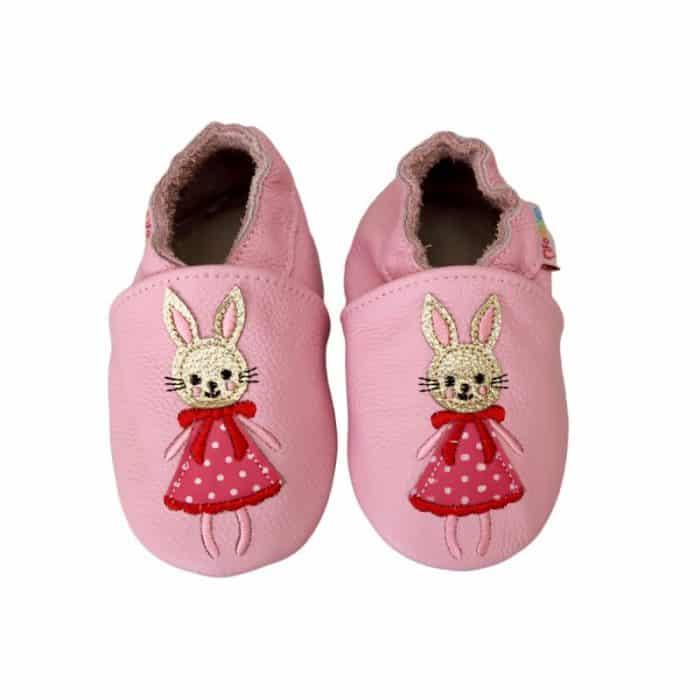 footstep capacky kozene barefoot detske zajacik zajacica klara