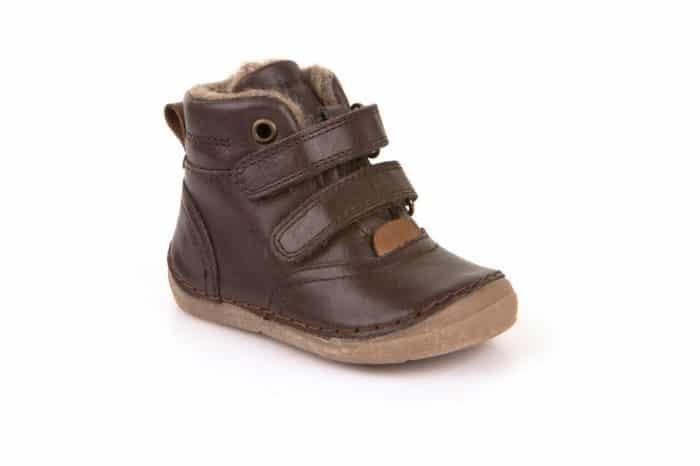 froddo ankle boots dark brown jahnacia kozusina