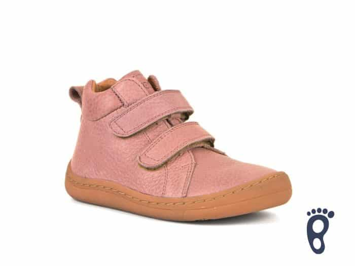 froddo barefoot celorocne vyssie pink prechodne topanky pre deti detske kozene celokozene
