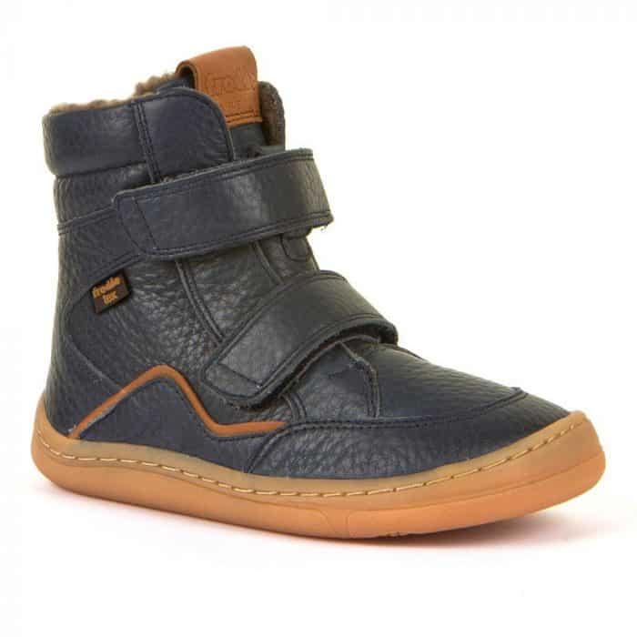 froddo barefoot tex membrana winter zateplene topanky pre deti blue