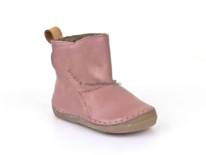 froddo boots pink jahnacia kozusina