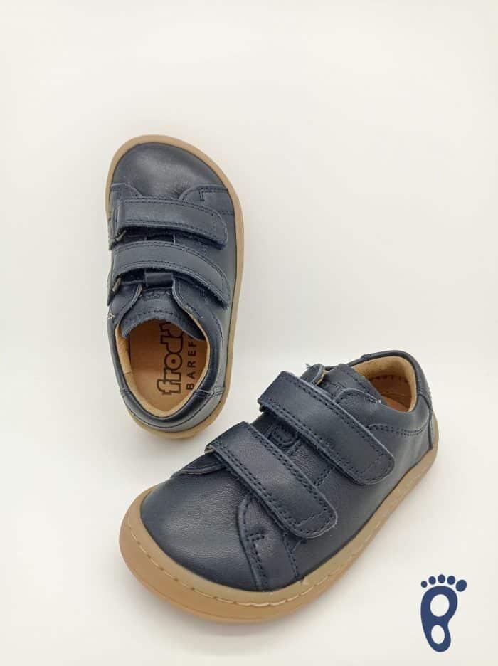 Froddo - Barefoot - Celoročné - Dark Blue - 2 suché zipsy 2021 2