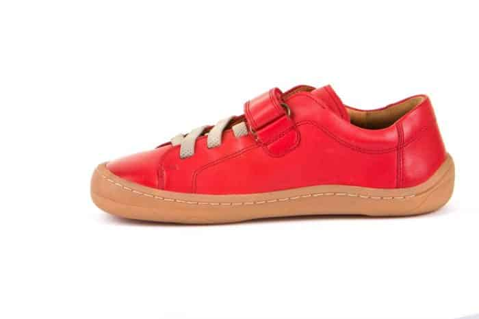 Froddo - Barefoot - Celoročné - Red - suchý zips + šnúrky 2021 2