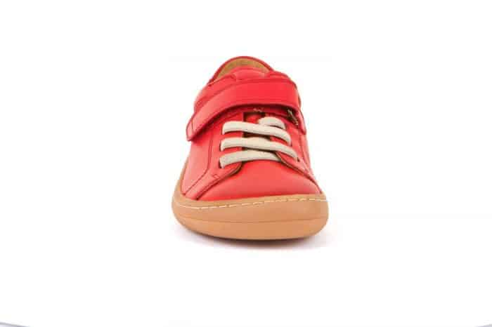 Froddo - Barefoot - Celoročné - Red - suchý zips + šnúrky 2021 3