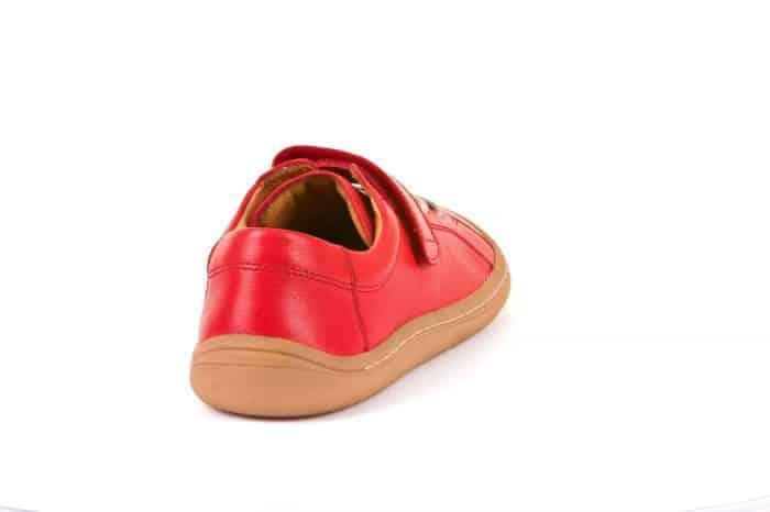 Froddo - Barefoot - Celoročné - Red - suchý zips + šnúrky 2021 4