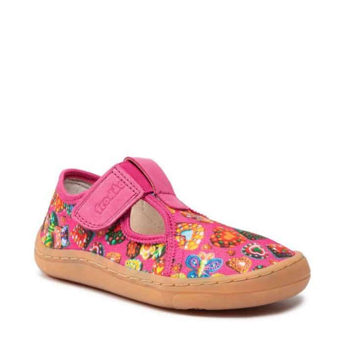 froddo papuce barefoot papucky dievcenske pre dievcata fuchsia