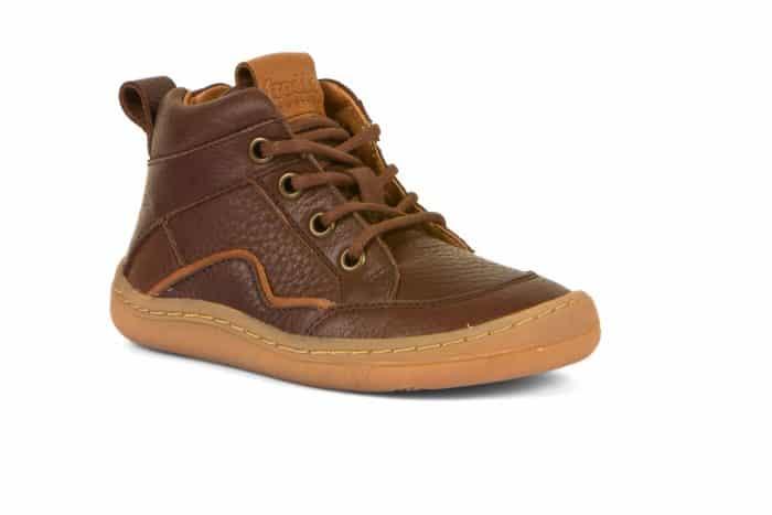 froddo prechodne topanky barefoot snurky hnede brown clenkove kozene