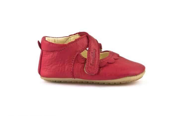 froddo prewalkers balerinky II red