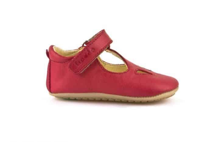 froddo prewalkers sandals red