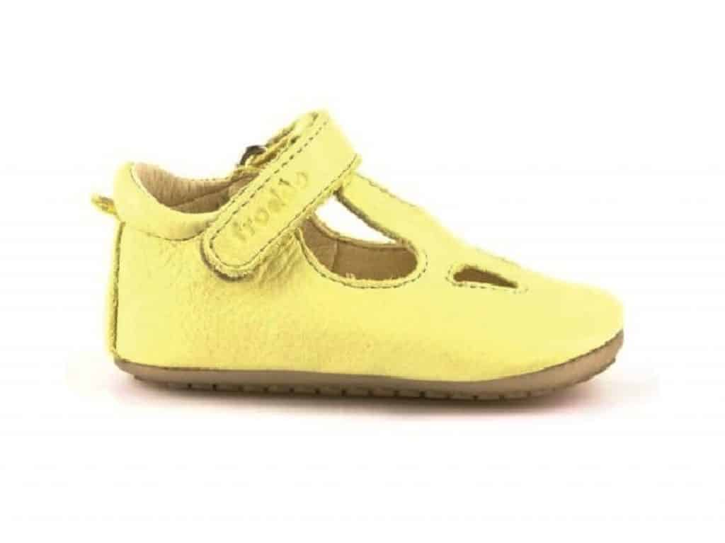 b10d2ce08fb4 Froddo - Prewalkers - Sandals - Yellow • Bosáčik