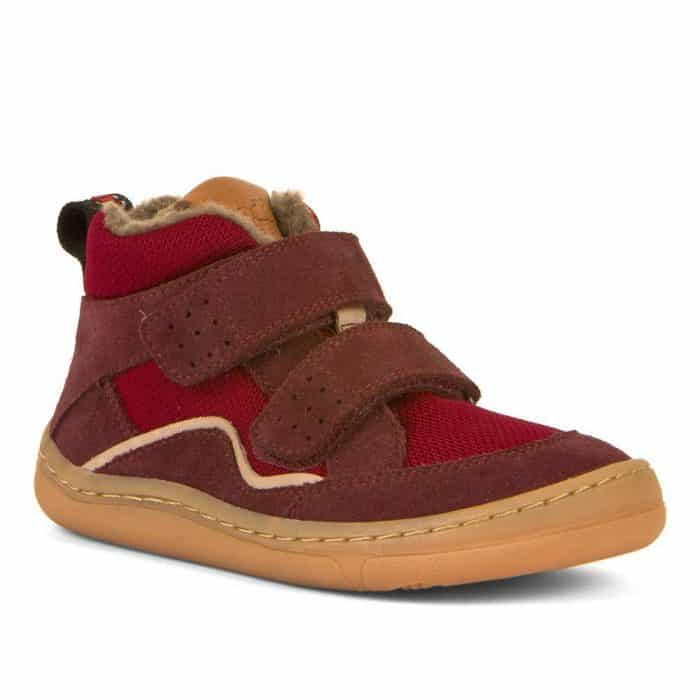 froddo zimne topanky barefoot zimusne na zimu zateplene winter wool bordeaux