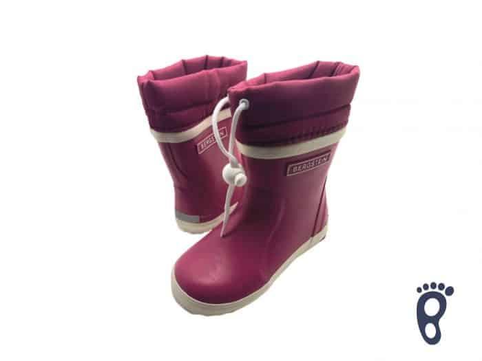 gumaky snehule bergstein zimusne winter zateplene fuxia barefoot