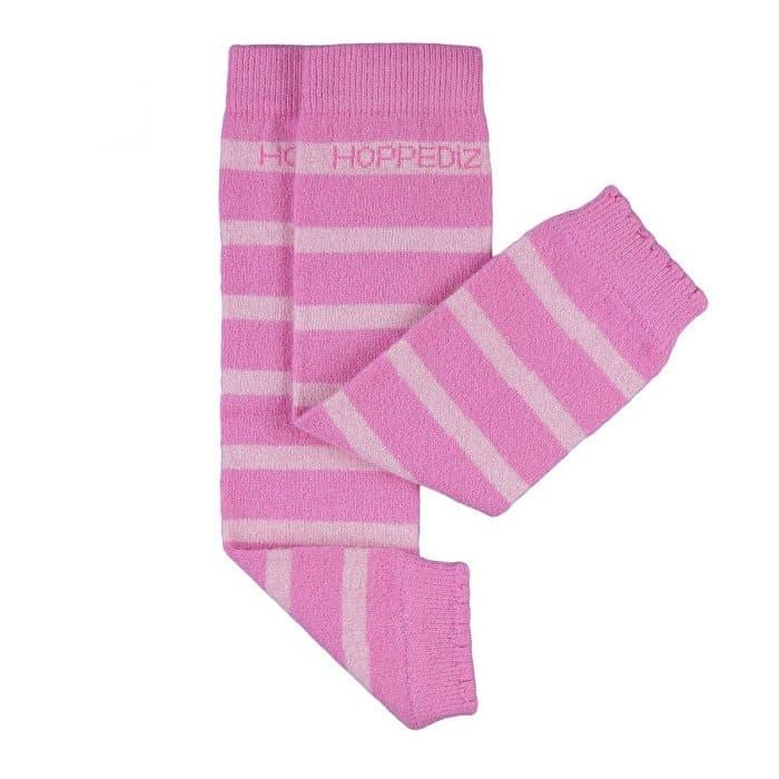 hoppediz babystulpen pink rosa gestraift