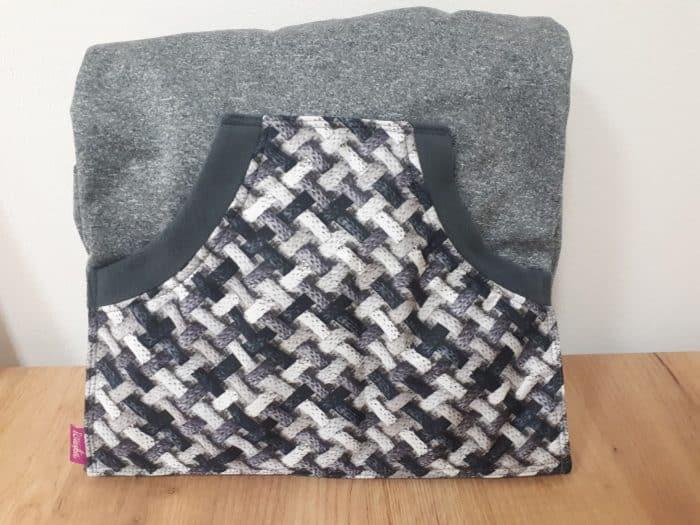 icuska ochranna termokapsa abstract grey