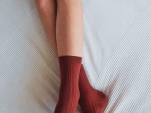 jeej design vrubkovane ponozky lady clay s antibakterialnou upravou