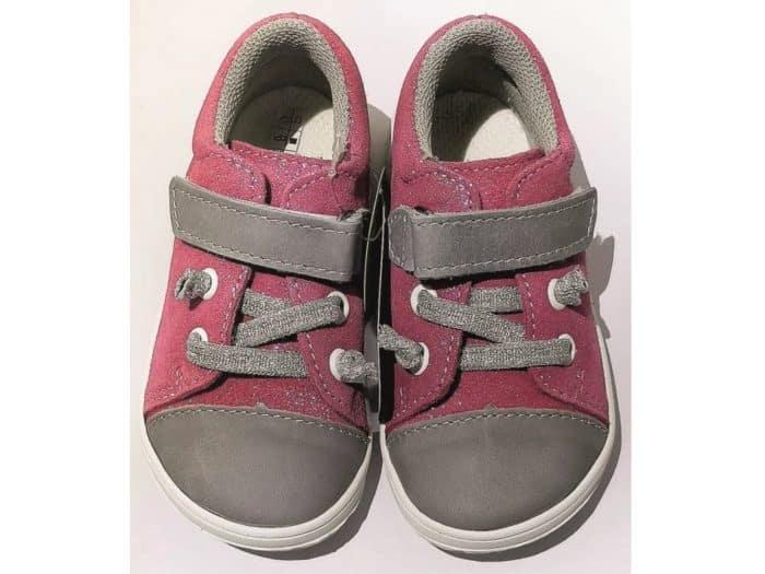 Jonap - B12MV- Dievčenské tenisky - Ružové 1