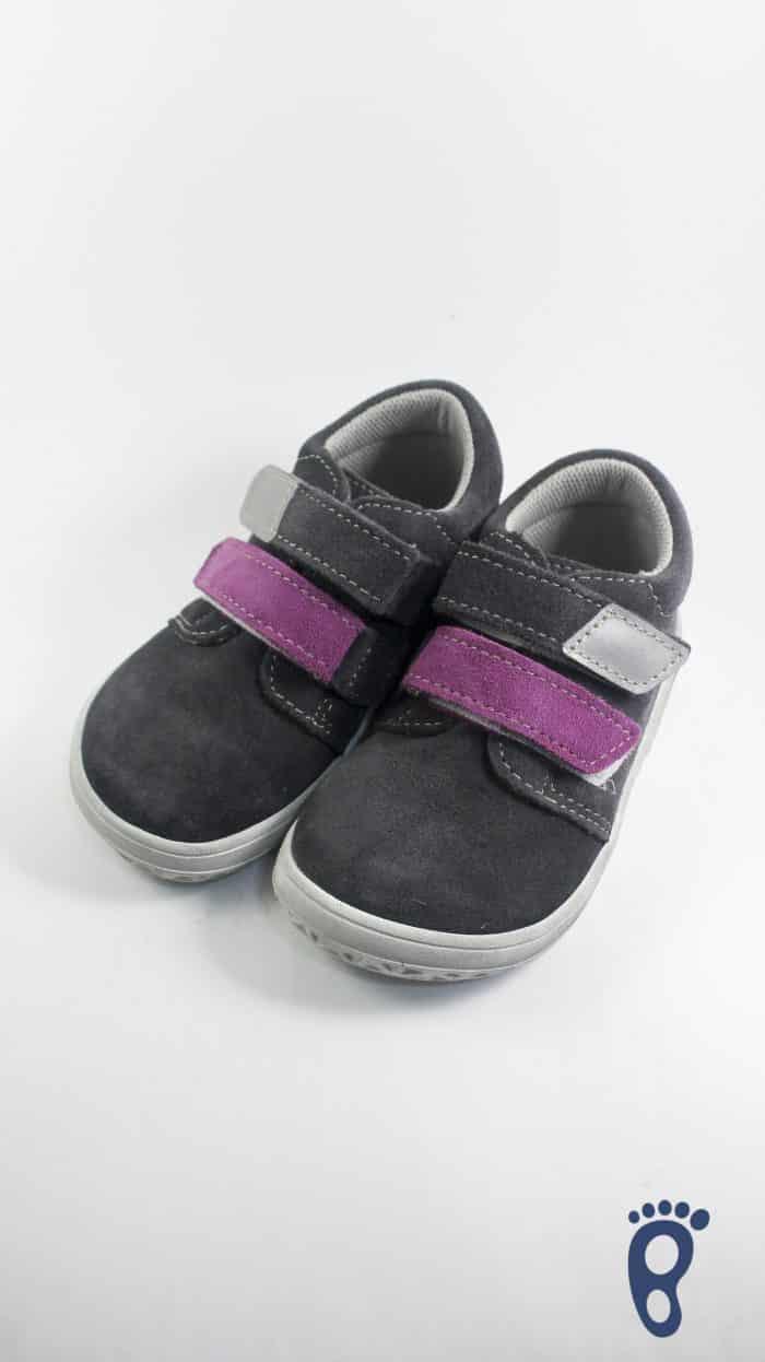 Jonap - Celokožené topánky - Šedofialová - Normálna šírka 1