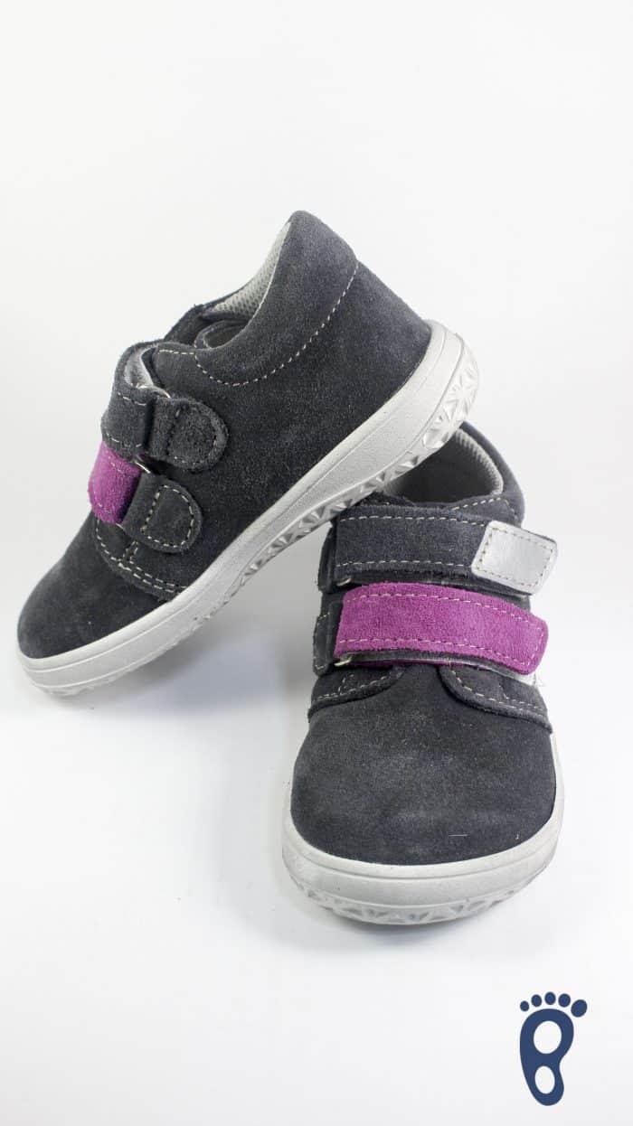 Jonap - Celokožené topánky - Šedofialová - Normálna šírka 2