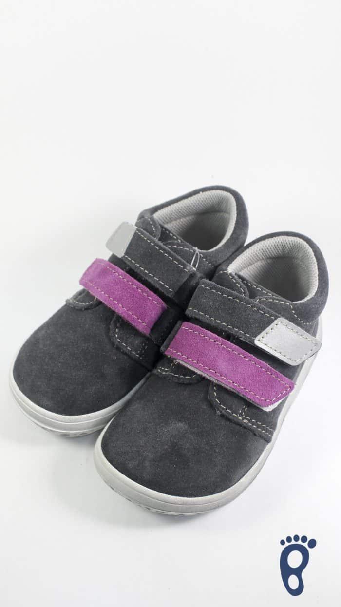 Jonap - Celokožené topánky - Šedofialová - Slim verzia 1