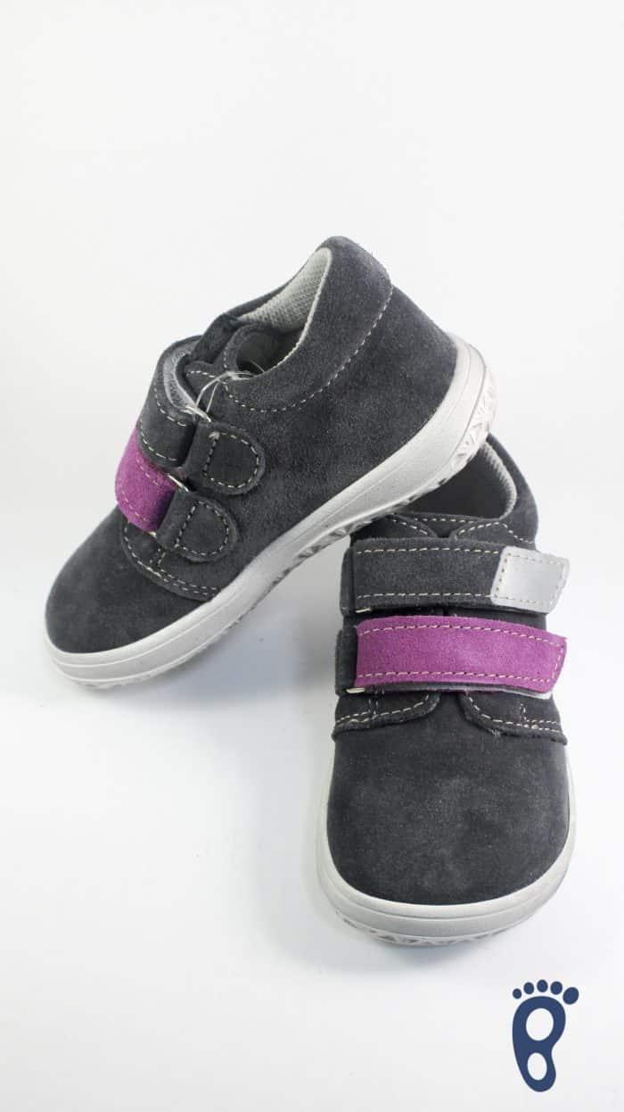 Jonap - Celokožené topánky - Šedofialová - Slim verzia 2