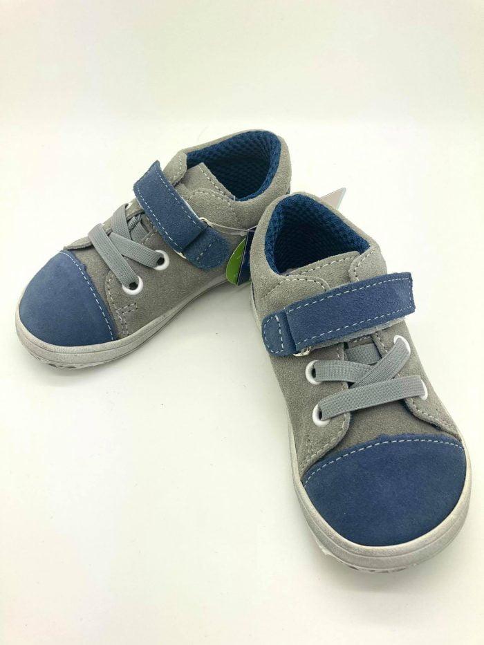 Jonap - B12SV- Chlapčenské tenisky - Modro - šedá - SLIM 2