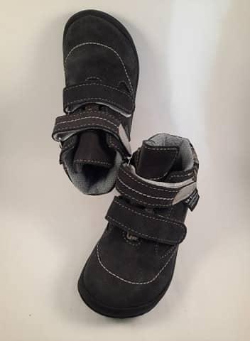 Jonap - B3/SV - Celoročné topánky - Šedý maskáč s membránou 1
