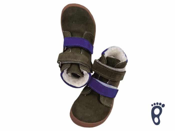 Jonap - B4/SV - Zateplené topánky - Khaki 1
