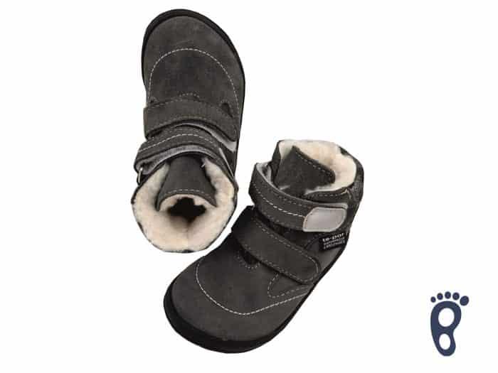 Jonap - B5/SV - Zateplené topánky - Šedá s maskáčom a membránou 1