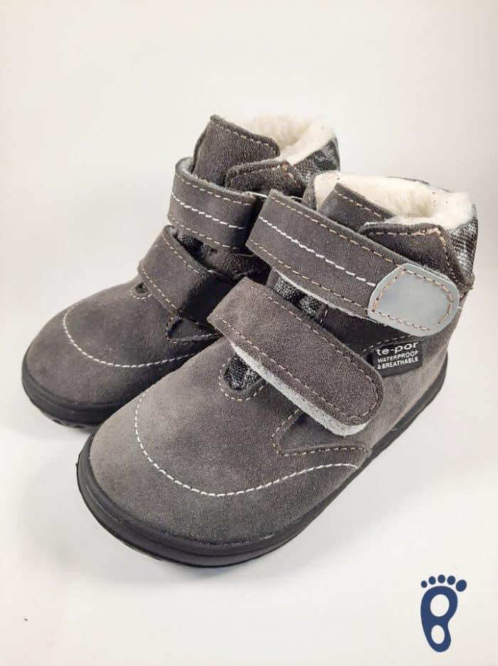 Jonap - B5/SV - Zateplené topánky - Šedý maskáč - Slim 1