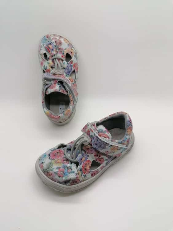jonap b9 kvety barefoot sandalky