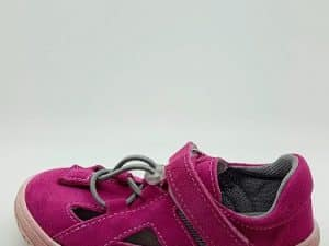 jonap b9s ruzova slim barefoot sandalky