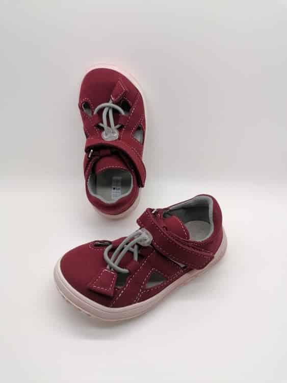jonap b9s vinove barefoot sandalky