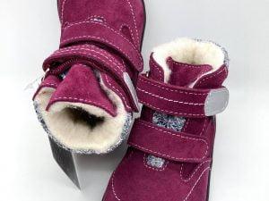 jonap b5s barefoot zateplene zimne topanky pre deti natural wool vinove membrana