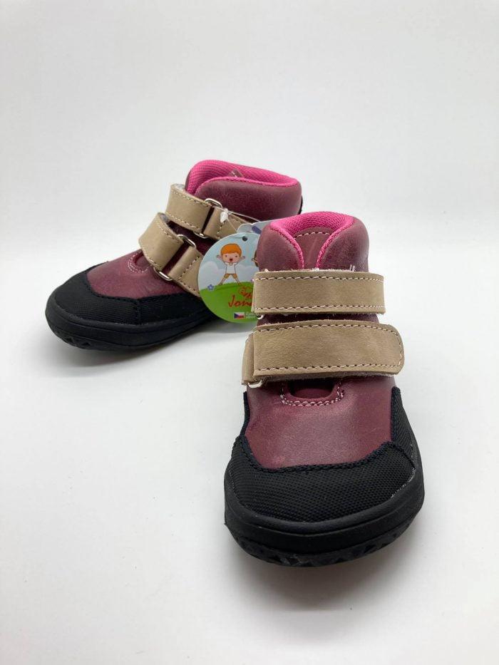 Jonap - Bella - Celoročné topánky - Červené - SLIM 1