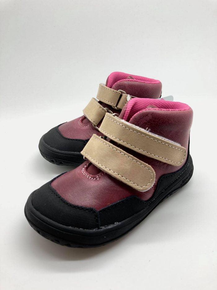 Jonap - Bella - Celoročné topánky - Červené - SLIM 2