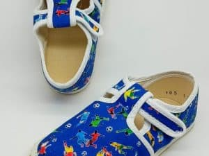 jonap barefoot papucky modre futbal