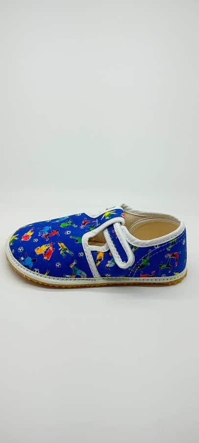Jonap - Papučky - Modré - Futbal 2