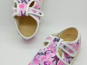 jonap barefoot papucky ruzove princess