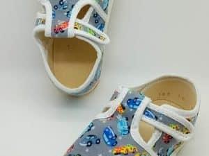 jonap papucky sive auta barefoot