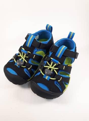 Sandále KEEN - SEACAMP II CNX Y - Black/Brilliant Blue veľ. 32/33-36 1