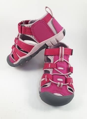 Sandále KEEN - SEACAMP II CNX Y - Very Berry/Dawn Pink veľ. 32/33-36 1