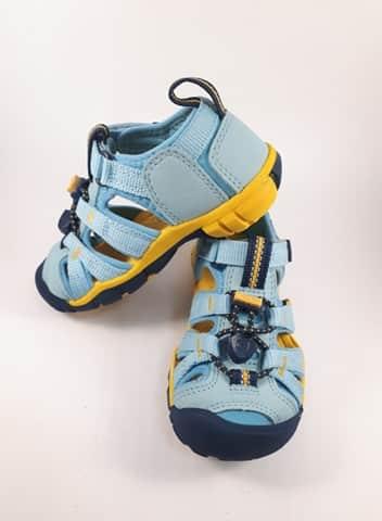 Sandále KEEN - SEACAMP II CNX Y - Petit Four/Keen Yellow veľ. 32/33-36 2