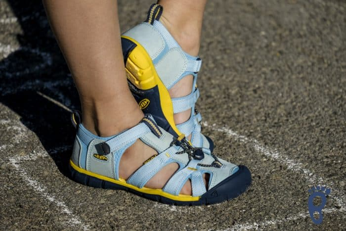 Sandále KEEN - SEACAMP II CNX C - Petit Four/Keen Yellow veľ. 24-31 3