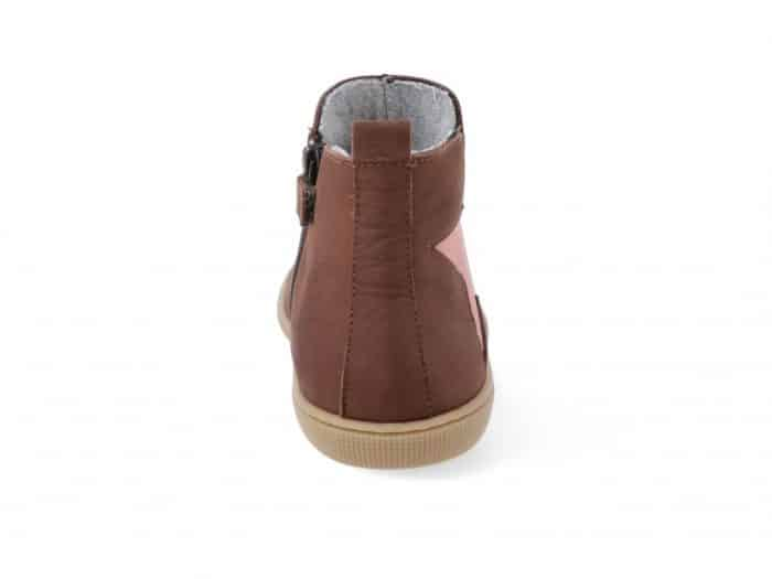 KOEL4KIDS - Barefoot čižmy HYDRO WARM CHOCOLATE 4
