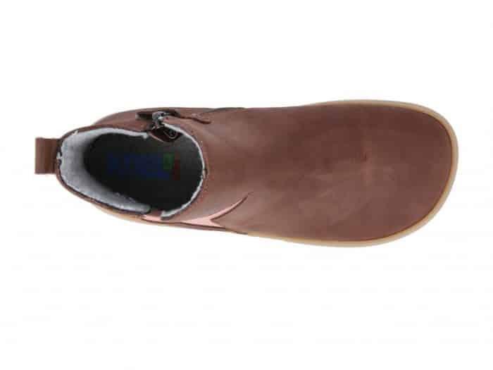 KOEL4KIDS - Barefoot čižmy HYDRO WARM CHOCOLATE 5