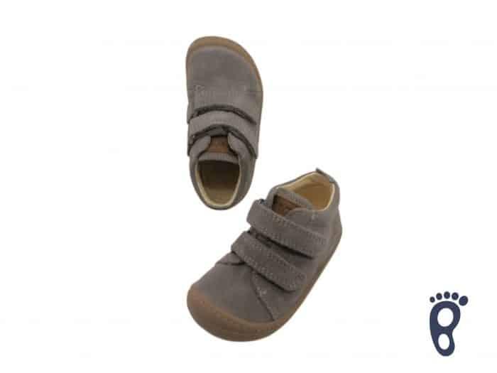 koel korkid velour grey barefoot