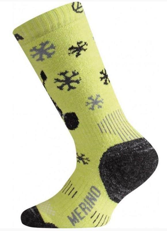lasting merino ponozky zelene WJSS
