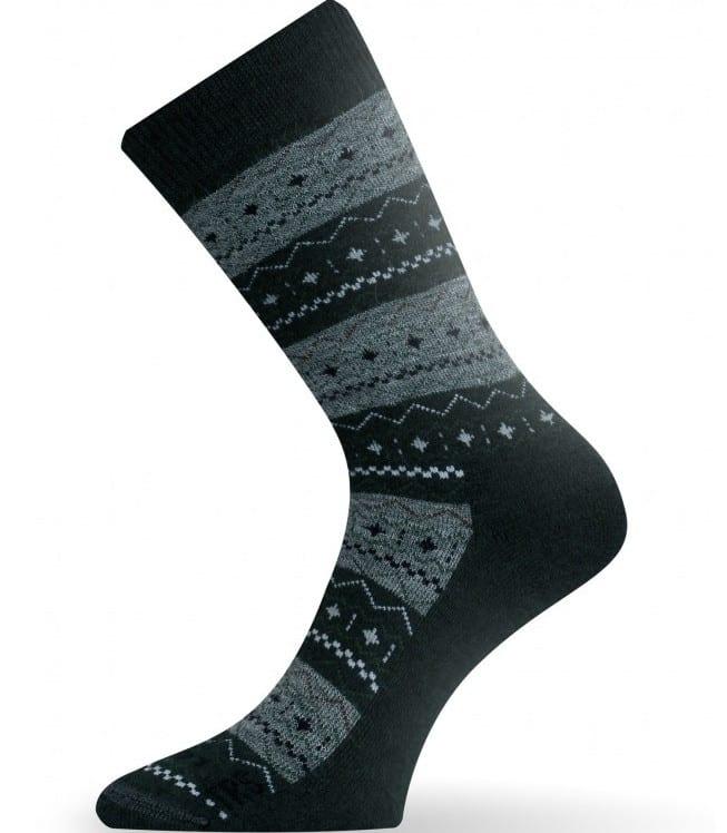 Lasting - Merino ponožky - zelené hrubé - TWP 686 1
